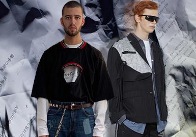 多元焕新--男装工艺细节趋势