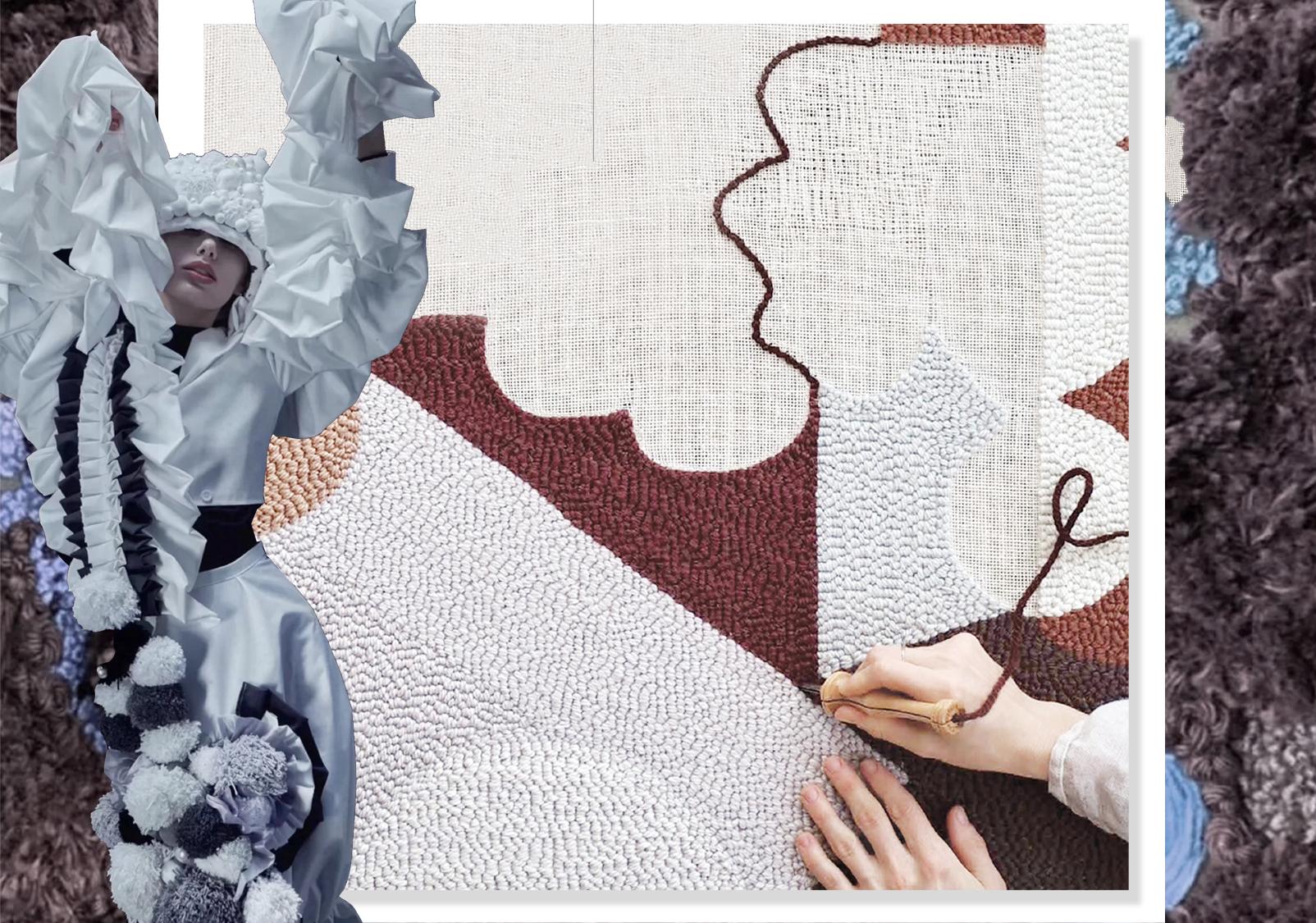 刺绣新方向--女装图案工艺趋势