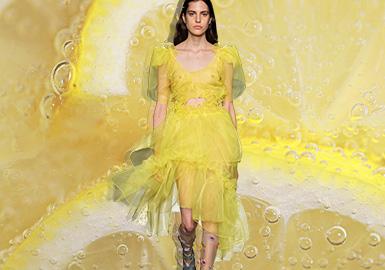 夏日檸檬黃--女裝主題色彩趨勢