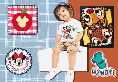 米奇妙妙屋--童装图案工艺趋势
