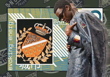 貼布裝飾--男裝皮衣皮草輔料趨勢