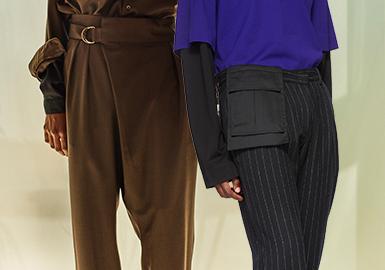 细微之处--男装裤子工艺细节趋势