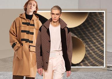 新潮质感--男装大衣双面呢面料趋势