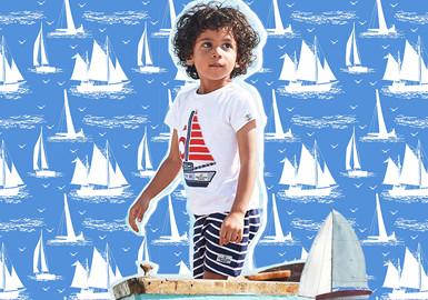 乘风破浪的宝宝--婴幼童图案趋势