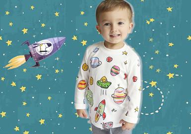 星际之旅--婴幼童图案趋势