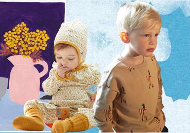 来自韩国童装品牌moimoln,在20/21秋冬moimoln将以往清新、趣味、可爱的风格进行延续。低饱和度的色彩,趣味的几何图形,清新优雅的小花卉、以及各种灵动活泼动物等元素,与款式进行融合,带来温暖与时尚。
