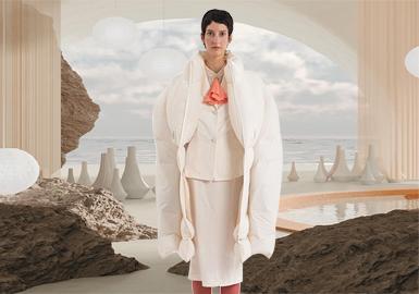 自然艺术--女装棉羽绒面料趋势