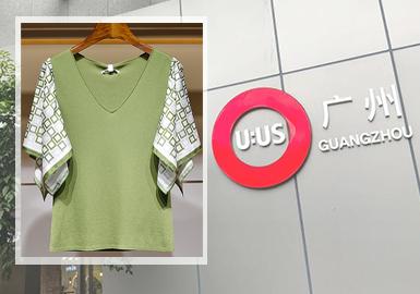 轻雅有趣的设计越来越受到大家喜爱。简洁有力的服装款式以及有趣的图案设计成为2020早秋广州女装毛衫批发市场中设计的重点。细针针法的运用在批发市场依然流行、网纱蕾丝演绎女性优雅气质、异质拼接袖型的丰富变化、上衣色彩和细节设计呈现出两种不同风格、趣味图案的多工艺运用将女性的优雅气质与年轻活力奇妙融合。