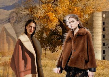 温暖自然--女装皮衣皮草色彩趋势