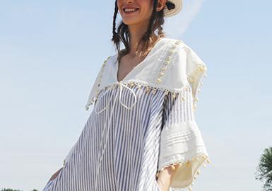 灵动绚烂的织带--女装度假系列辅料趋势