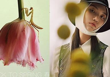 2020秋冬系列名为《Back To Spring回春》,品牌首次以中国风主题进行时装设计。有很多带有美好寓意的一些中国意向的东西在《回春》系列里