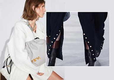 獨具氣場的側邊--女裝工藝細節趨勢