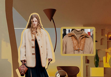 實用裝飾點--女裝皮衣皮草工藝趨勢