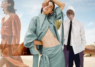 自然艺界—男女装棉麻面料色彩趋势预测
