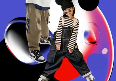 酷感新主張--童裝褲子廓形趨勢