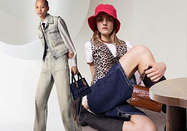 精簡保值--女裝牛仔褲廓形趨勢