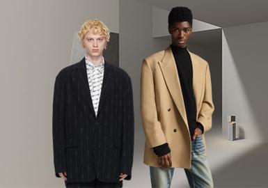 正裝魅力--男裝西裝廓形趨勢