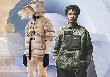 逆冬遠行--男女裝運動羽絨棉服廓形趨勢