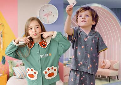 家居情调--童装家居服色彩趋势