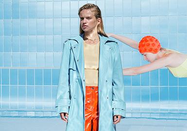 水晶蓝--女装皮衣皮草色彩趋势