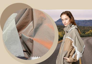 户外新貌--女装化纤外套面料趋势
