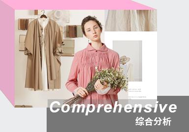 目前国内的棉麻品牌当中JNBY、AUM、EIN、initial及Pure Tea为市场中重要的棉麻风格参考品牌,而LANAFAY、Donoratico、布景也同样受到欢迎。本次报告款式提取以线上款为主。从各大棉麻品牌上新款式来看,21春夏风衣外套、连衣裙、高腰直筒裤是春夏季热卖单品,尤其是餐布格纹裙是少淑棉麻标杆中的重要热卖单品;本次更是增加畅销单品和同款对比以供参考。