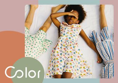 夏日有清欢--女童连衣裙色彩趋势