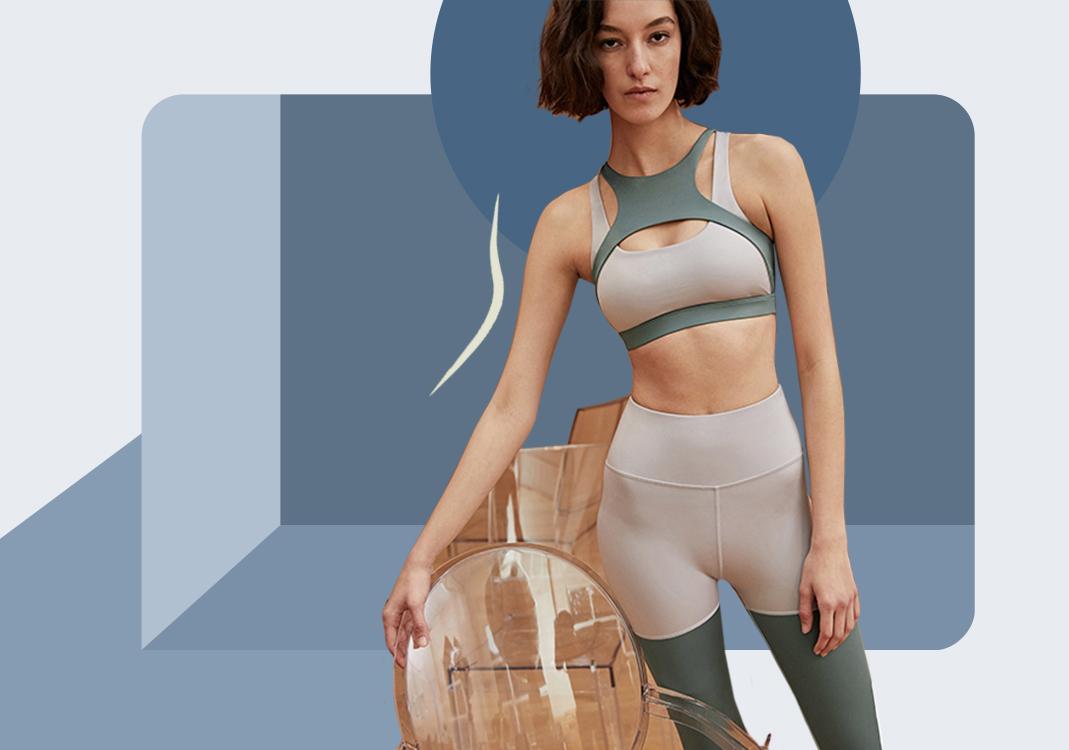 繁美剪裁--女装瑜伽服廓形趋势