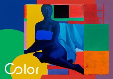 饱和色域--女装大衣色彩趋势
