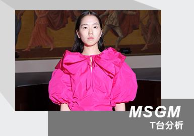 "MSGM2021秋冬女装系列是对米兰地下夜生活的颂歌,也是对重返舞池的渴望的颂歌。该系列以一群年轻的舞者和演员为原型。在经历了如此多的共同冲击之后,MSGM现在准备一起重新规划未来,重燃米兰光芒。透过此序幕,创意总监Massimo Giorgetti提出了MSGM的2021女士秋冬系列:MANIFESTO;这是对米兰夜生活的颂歌,是艺术平台Flash Art总监Gea Politi与Domani俱乐部合作编写的一首带有催眠节奏的歌,歌曲""Manifesto""便是其中的一部分。此首歌由意大利电影界最有趣的年轻导演之一:弗朗切斯科·科波拉(FrancescoCoppola)执导。集结了米兰十五个年轻表演者,包括舞者,女演员和模特儿,旨在展现一种夜生活的态度,并在米兰历史悠久的曼佐尼(Teatro Manzoni)剧院中进行拍摄。"