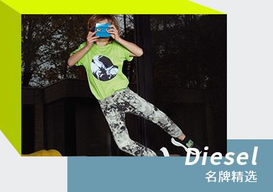 """来自意大利的著名品牌Diesel,一直以""""另类""""称霸时尚圈,追求特立独行的创立者伦佐·罗索(Renzo Rosso)一直努力探索能领导时尚态度的想法和设计,在2021春夏Diesel以亮眼的荧光色系运用,为消费者带来更具视觉冲击力的时尚体验。"""
