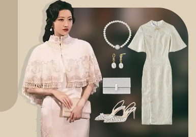 司藤小姐的衣橱--女装礼服组货搭配
