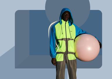 城市运动--男装夹克廓形趋势