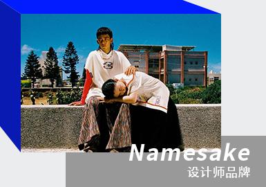 台湾新锐时装品牌Namesake首季系列「Family Matters以家之名」聚焦设计师三兄弟与父亲之家庭情谊,并透过篮球而团结在一起,今番进入2021春夏系列,Namesake将创作视角聚焦在回忆中的特定时刻—— 2007年的夏威夷家庭旅游,那是第一次家族旅行的回忆,也是第一次美国梦的文化体验。本系致敬女性主义与篮球文化,在男女性别与篮球农夫之间打造一支跨世代的篮球队。如果说2000年夏威夷旅行的回忆是本季系列的音符,那么Patsy Mink在运动员的女权坚定就是「MUSCLE MEMORY」的旋律。