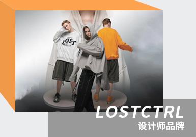 LOSTCTRL成立于2020年早春,是广州的原创设计潮流品牌,受中国文化和时代的启发,以服装作为载体,,倡导每个人应具有独立的思考方式。LOSTCTRL不断考究高级时装与日常着装的共性,将时装设计元素融入成衣中,通过工艺和形象方面展示出标志性美学。「我们偷袭了浪打在海面之前的间隙,在幻想之中安插了幻想。」本季以「幻象之海」为主题,以分割解构的技艺表达主题思想,本系列值得关注的还有做旧磨损、毛边设计等重点工艺细节。