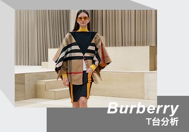 Burberry 21/22秋冬女装系列在伦敦举行,无论是场景布置和设计风格,都与2月份发布的男装系列风格相似。本季展示了一个以犀利和感性为根,以女性为中心的系列。创意总监Riccardo Tisci通过借鉴上个世纪初人类在野外的穿着,朴素的野性美给服装以舒适和适应性,中得以启发,将裙装以正方形布料缝合在一起,并改造裁剪工艺,让穿着者可以自由拆解和重建服装;生态仿毛皮的工艺也传达了以大自然为中心的主题。同时,也从19世纪后期和20世纪初期的自然主义运动(一个将本能置于理性主义和唯物主义之上的时代)中找到相似的灵感,艺术家们感受到了野性的召唤,并试图将自己从社会规则中解脱出来。对于巴宝莉(Burberry)来说,如今女性客户群体会更加期待女装上的男装特征,这也是他本人擅长的设计:感性和运动。
